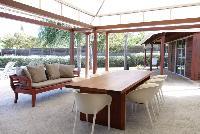 cool lanai of Saint Barth Villa Mak luxury holiday home, vacation rental