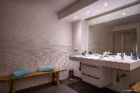 clean lavatory in Saint Barth Villa Wahoo luxury holiday home, vacation rental