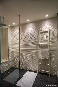 cool rain shower in Saint Barth Villa Wahoo luxury holiday home, vacation rental