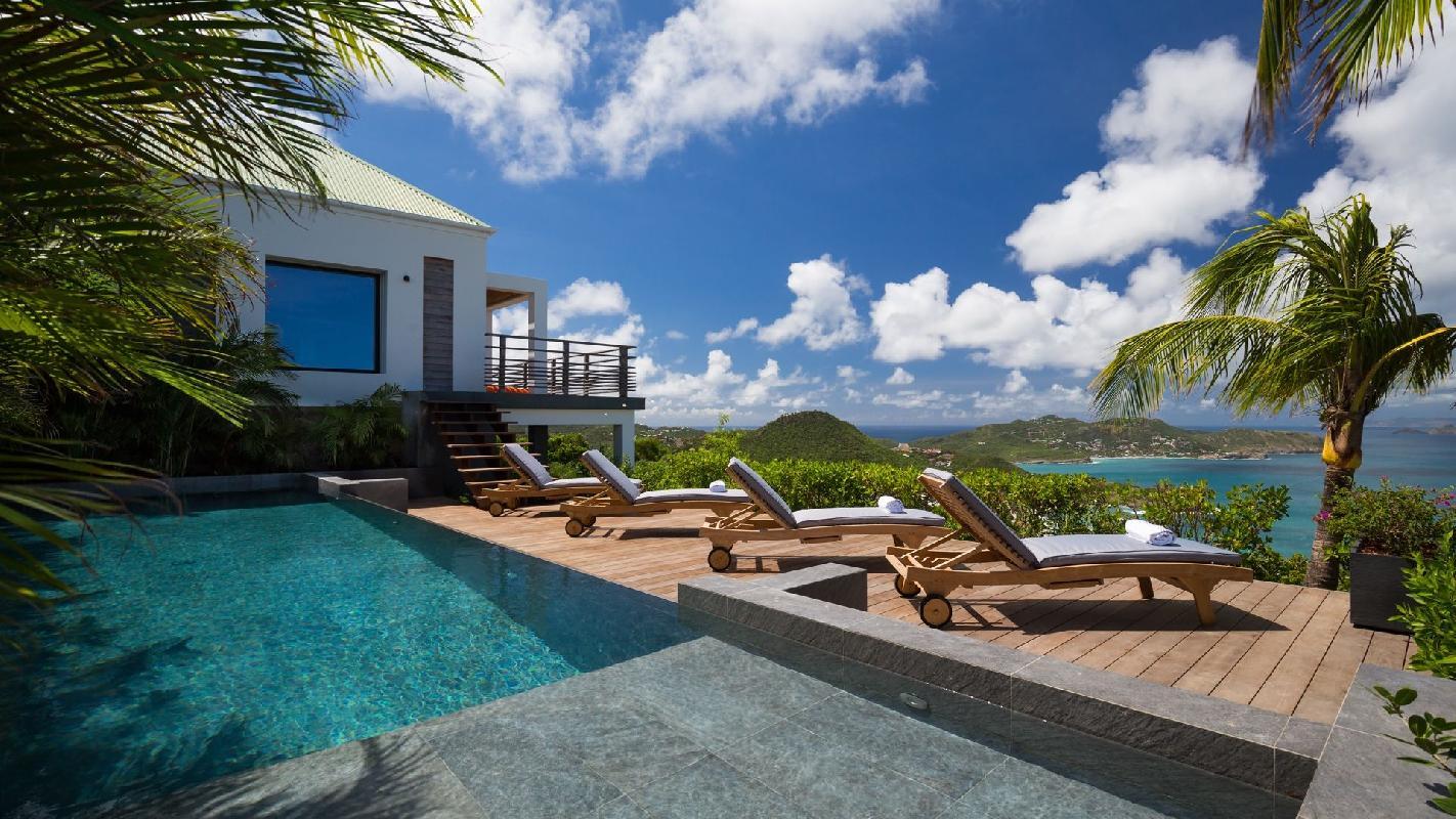 amazing Saint Barth Villa Clementine luxury home, vacation rental
