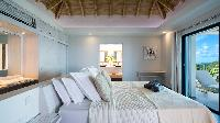 clean bedroom linens in Saint Barth Villa Clementine luxury home, vacation rental