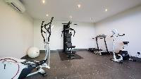 cool fitness room of Saint Barth Villa Clementine luxury home, vacation rental