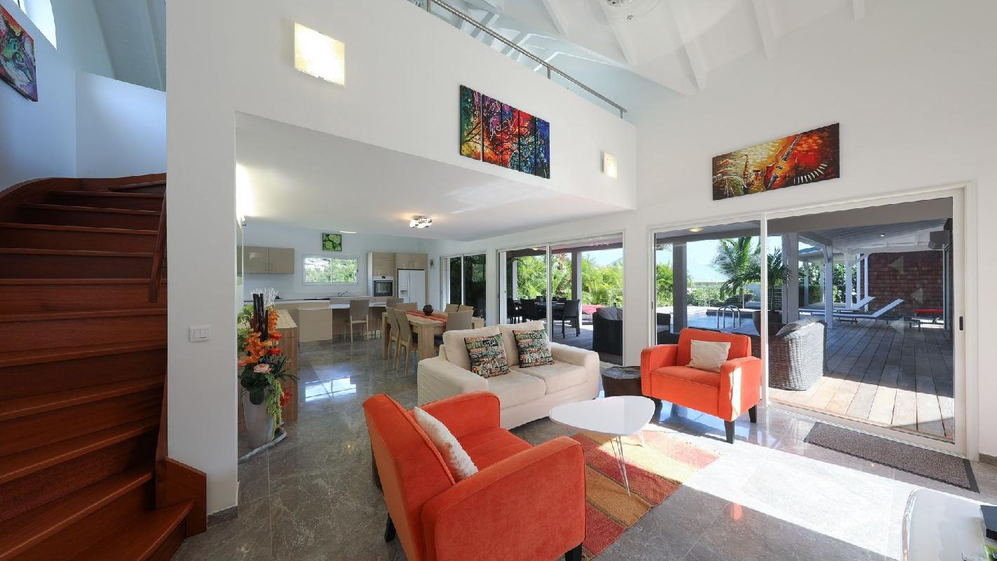 cool Saint Barth Villa Cote Sauvage luxury holiday home, vacation rental