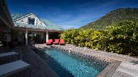 lovely surroundings of Saint Barth Villa Cote Sauvage luxury holiday home, vacation rental