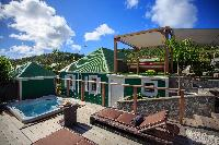 cool whirlpool of Saint Barth Luxury Villa Eugenie holiday home, vacation rental