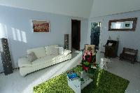 cool living room of Saint Barth Luxury Villa Eugenie holiday home, vacation rental
