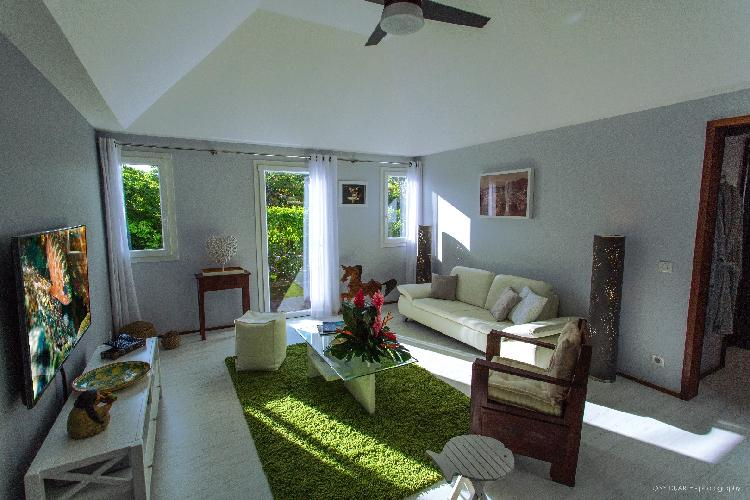 fully furnished Saint Barth Luxury Villa Eugenie holiday home, vacation rental