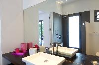 clean bathroom in Saint Barth Luxury Villa Gaia holiday home, vacation rental
