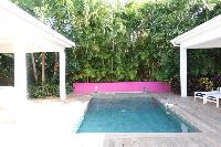 cool swimming pool of Saint Barth Luxury Villa Gaia holiday home, vacation rental