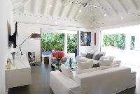 impressive ceiling of Saint Barth Luxury Villa Gaia holiday home, vacation rental