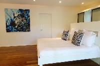 pristine bedding in Saint Barth Luxury Villa Gaia holiday home, vacation rental