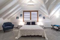 pristine bedding in Saint Barth Villa Wild Blue luxury holiday home, vacation rental