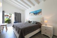 clean bedroom linens in Saint Barth Villa Wild Blue luxury holiday home, vacation rental