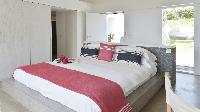 clean bedroom linens in Saint Barth Villa Casa Del Mar luxury holiday home, vacation rental