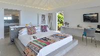clean bed sheets in Saint Barth Villa Casa Del Mar luxury holiday home, vacation rental