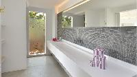 clean bathroom in Saint Barth Villa Casa Del Mar luxury holiday home, vacation rental