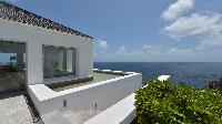 cool balcony of Saint Barth Villa Casa Del Mar luxury holiday home, vacation rental
