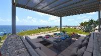 cool cabana of Saint Barth Villa Casa Del Mar luxury holiday home, vacation rental