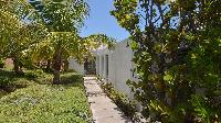 lovely garden of Saint Barth Villa Casa Del Mar luxury holiday home, vacation rental