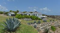 lush garden of Saint Barth Villa Casa Del Mar luxury holiday home, vacation rental