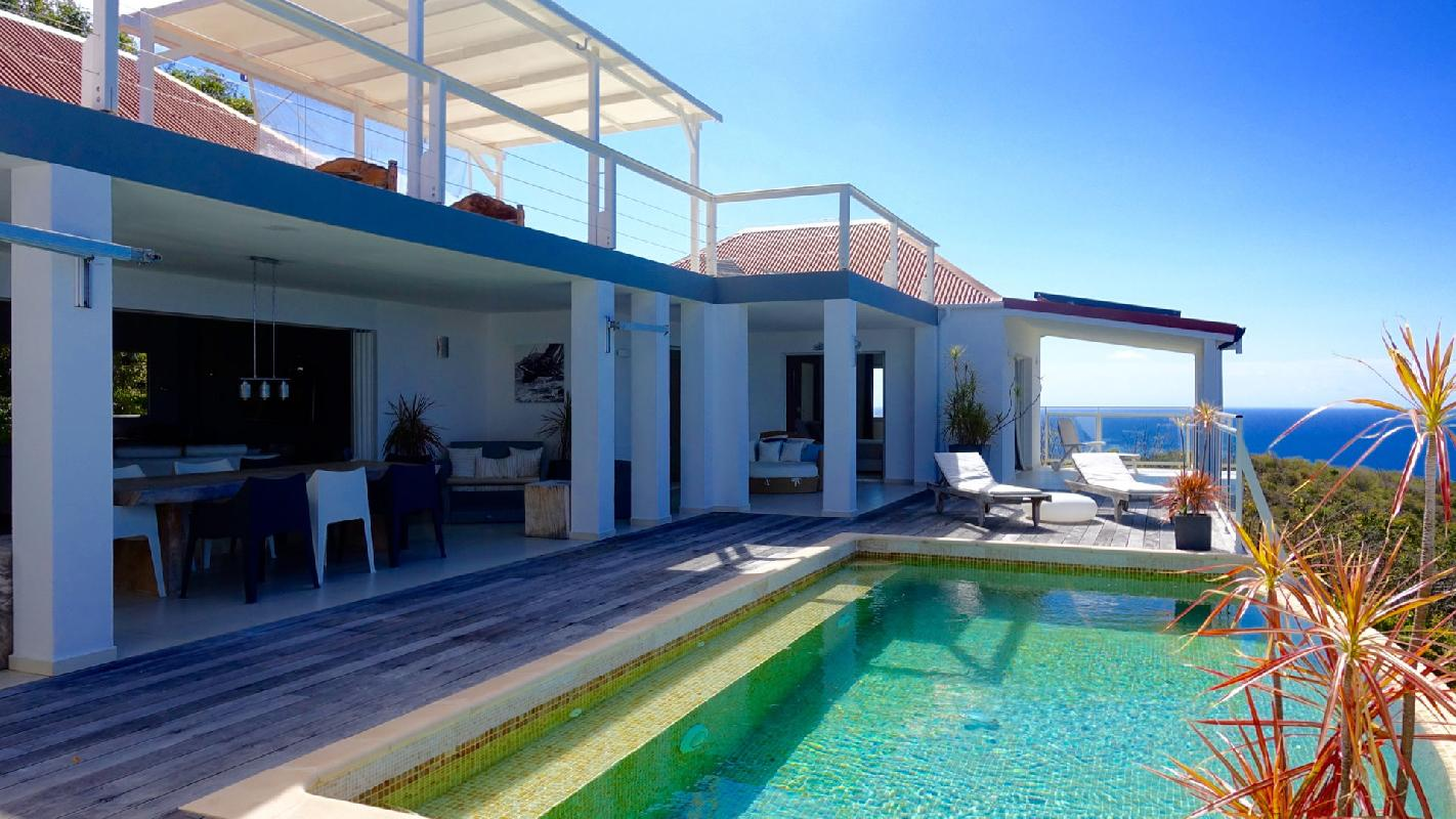 beautiful Saint Barth Villa Dasha luxury holiday home, vacation rental