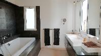 clean lavatory in Saint Barth Villa Dasha luxury holiday home, vacation rental