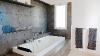 clean bathroom in Saint Barth Villa Dasha luxury holiday home, vacation rental