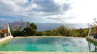 cool swimming pool of Saint Barth Villa Dasha luxury holiday home, vacation rental