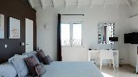 clean bedroom linens in Saint Barth Villa Dasha luxury holiday home, vacation rental