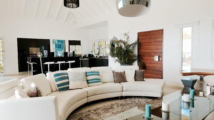 fully furnished Saint Barth Villa Dasha luxury holiday home, vacation rental