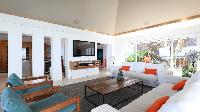 cool living room of Saint Barth Luxury Villa Eclipse holiday home, vacation rental