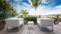 cool terrace of Saint Barth Luxury Villa Eclipse holiday home, vacation rental
