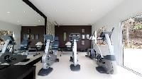 cool fitness room at Saint Barth Luxury Villa Eclipse holiday home, vacation rental