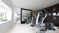 cool gym room at Saint Barth Luxury Villa Eclipse holiday home, vacation rental