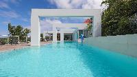 cool swimming pool of Saint Barth Luxury Villa Eclipse holiday home, vacation rental