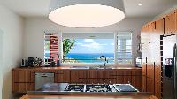 pleasant kitchen of Saint Barth Luxury Villa Eclipse holiday home, vacation rental