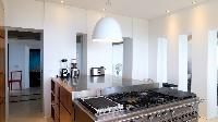 modern kitchen appliances in Saint Barth Luxury Villa Eclipse holiday home, vacation rental