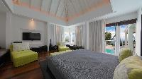 impressive ceiling of Saint Barth Luxury Villa Eclipse holiday home, vacation rental