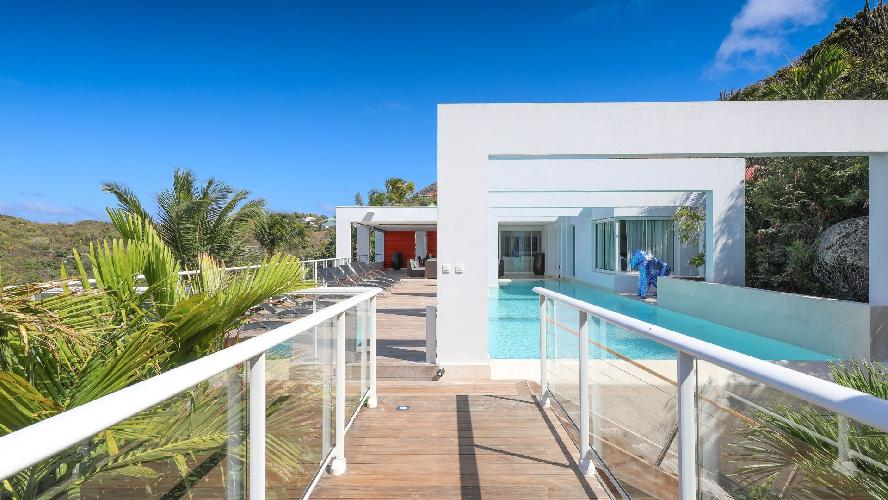 splendid Saint Barth Luxury Villa Eclipse holiday home, vacation rental