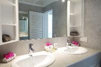 clean lavatory in Saint Barth Villa Idalia luxury holiday home, vacation rental