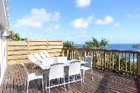 cool terrace of Saint Barth Villa Idalia luxury holiday home, vacation rental