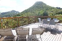 lush surroundings of Saint Barth Villa Idalia luxury holiday home, vacation rental