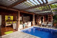 fun poolside of Saint Barth Villa Samsara luxury holiday home, vacation rental