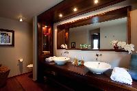 clean bathroom in Saint Barth Villa Samsara luxury holiday home, vacation rental