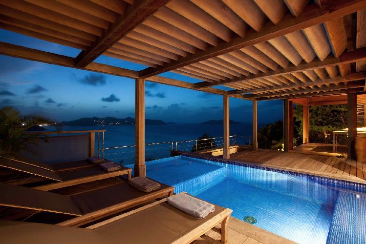 fantastic Saint Barth Villa Samsara luxury holiday home, vacation rental