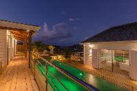 spell-binding Saint Barth Luxury Villa 360° Caribbean Sea holiday home, vacation rental