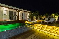 enthralling Saint Barth Luxury Villa 360° Caribbean Sea holiday home, vacation rental