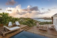 fascinating Saint Barth Luxury Villa 360° Caribbean Sea holiday home, vacation rental