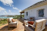 amazing Saint Barth Luxury Villa 360° Caribbean Sea holiday home, vacation rental