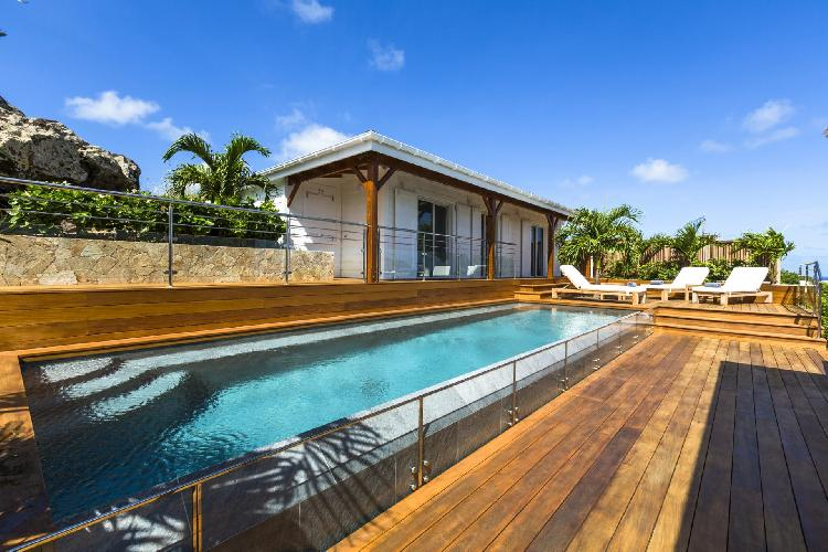 beautiful Saint Barth Luxury Villa 360° Caribbean Sea holiday home, vacation rental
